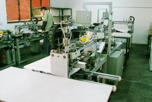 A plastic workshop